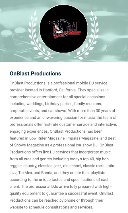 OnBlast Productions
