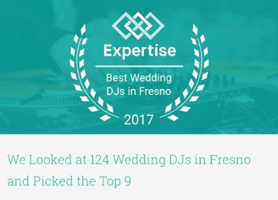 Best Wedding DJ in Fresno 2017