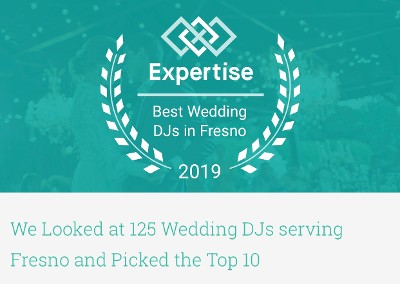 Best Wedding DJ in Fresno